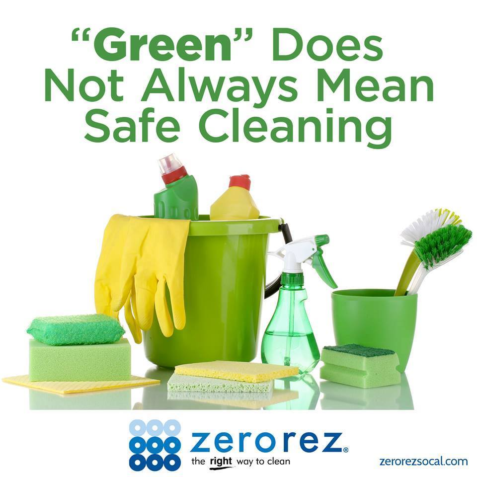 Green Cleaning What Does It Really Mean Zerorez Socal