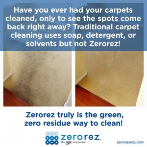 Carpet Cleaning in Orange County before and after