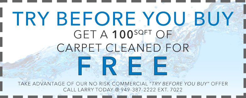 Commercial cleaning services coupon