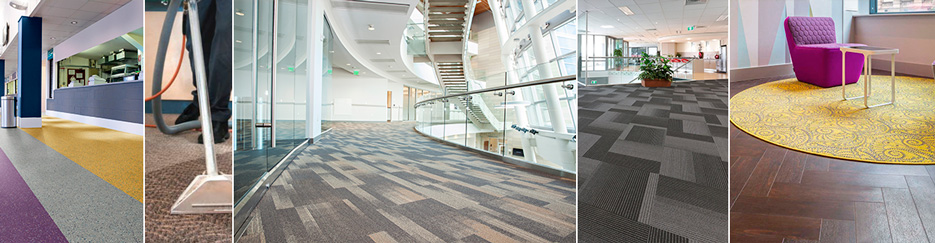 Commercial carpet cleaning services floor types