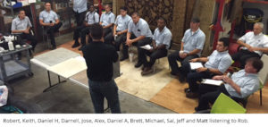 stone cleaning workshop with Rob Fairfield and the Zerorez SoCal team