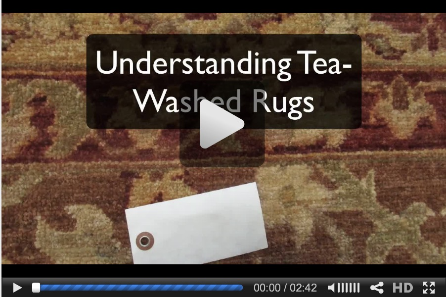Understanding Tea-Washed Rugs video