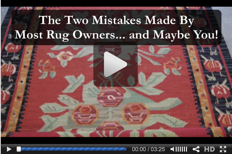 The Two Mistakes Made By Most Rug Owners video