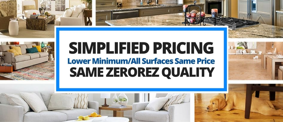 simplified pricing for all surfaces